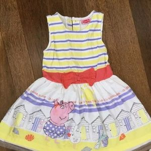 Other - Girl's size 3-4 Peppa Pig fancy dress